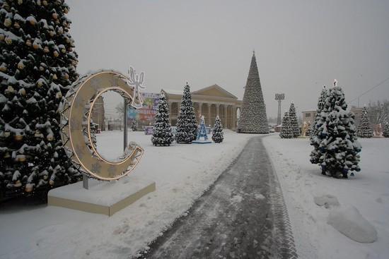 Ставропольцев приглашают принять участие вновогоднем флешмобе сосветящимися огромными буквами