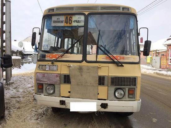 ВСтаврополе старая женщина угодила под колёса автобуса ПАЗ