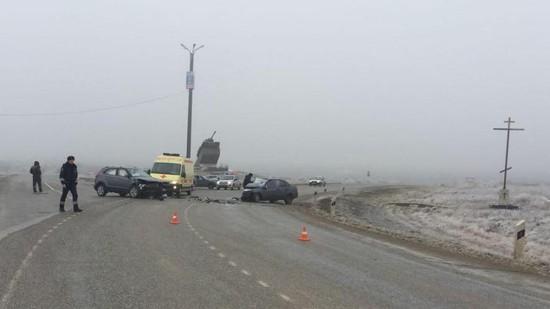 Лихач устроил смертельное ДТП наСтаврополье из-за превышения скорости