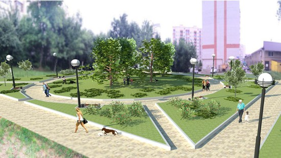 Комфортабельный сквер появится наместе заброшенного участка наюго-западе Ставрополя