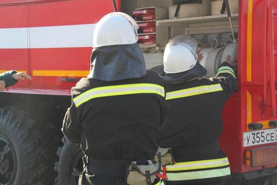 ВИпатовском районе устранили возгорание водном изкорпусов психоневрологического интерната