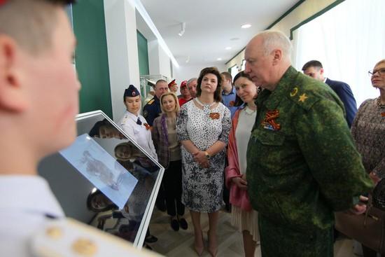 Александр Бастрыкин иОльга Тимофеева открыли музей Михаила Ядрова вСтаврополе