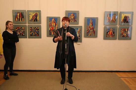 «Сказочный город» художника Петра Горбаня представлен вСтаврополе