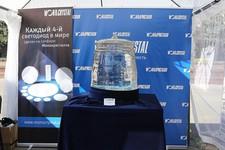 Знаменитый кристалл сапфира весом 300 кг.