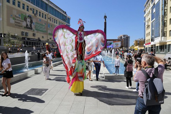 На Александровской площади.