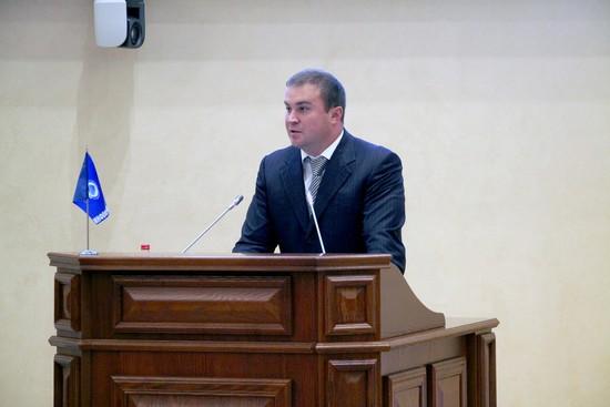 Министр энергетики, промышленности и связи Ставрополья  Виталий Хоценко.